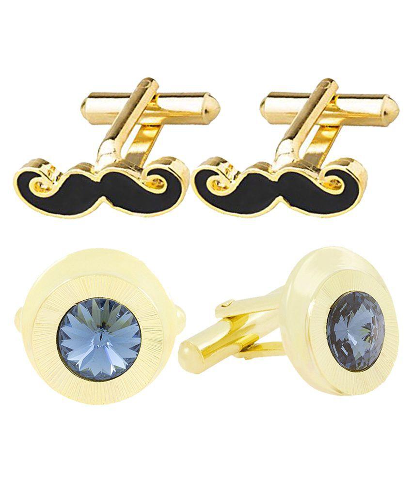ZIVOM Multi Brass & Copper etc Cufflinks
