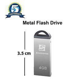 Simmtronics 4GB USB 2.0 Utility Pendrive Pack of 1