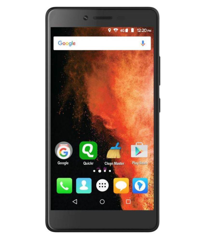Micromax Canvas 6 Pro Black E484 4GB RAM 5.5 Inch Full HD - Smart mobile phone