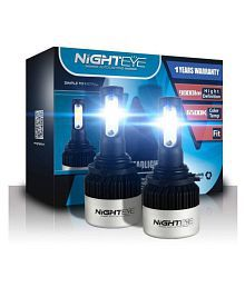 NIGHTEYE LED H4 HEADLIGHT LED UNIVERSAL FOR CARS AND BIKES (SET OF 2)