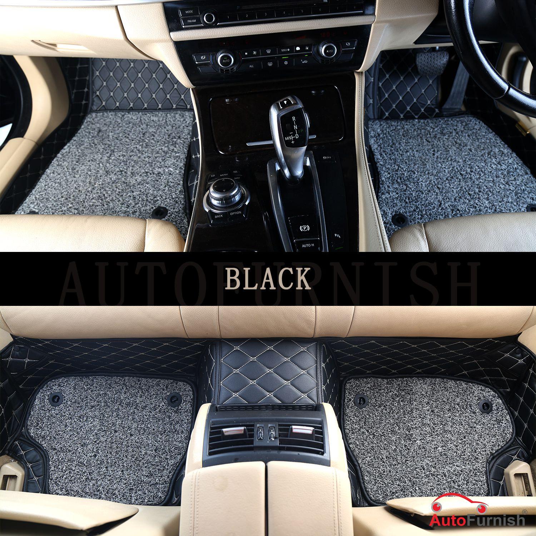 Autofurnish 7D Luxury Custom Fitted Car Mats For Maruti Suzuki SX4 - Black