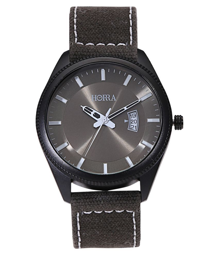 Horra PB817MLGN19 Fabric Analog Men's Watch