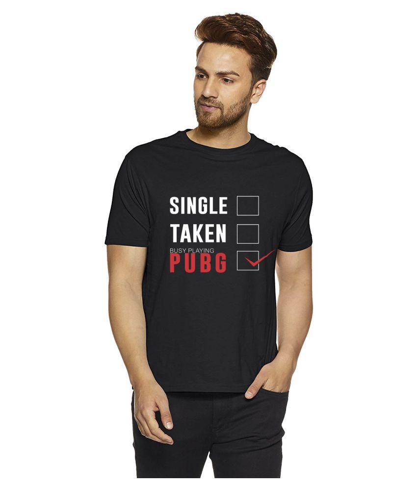 INDIRAGE 100 Percent Cotton Black Quotes T-Shirt