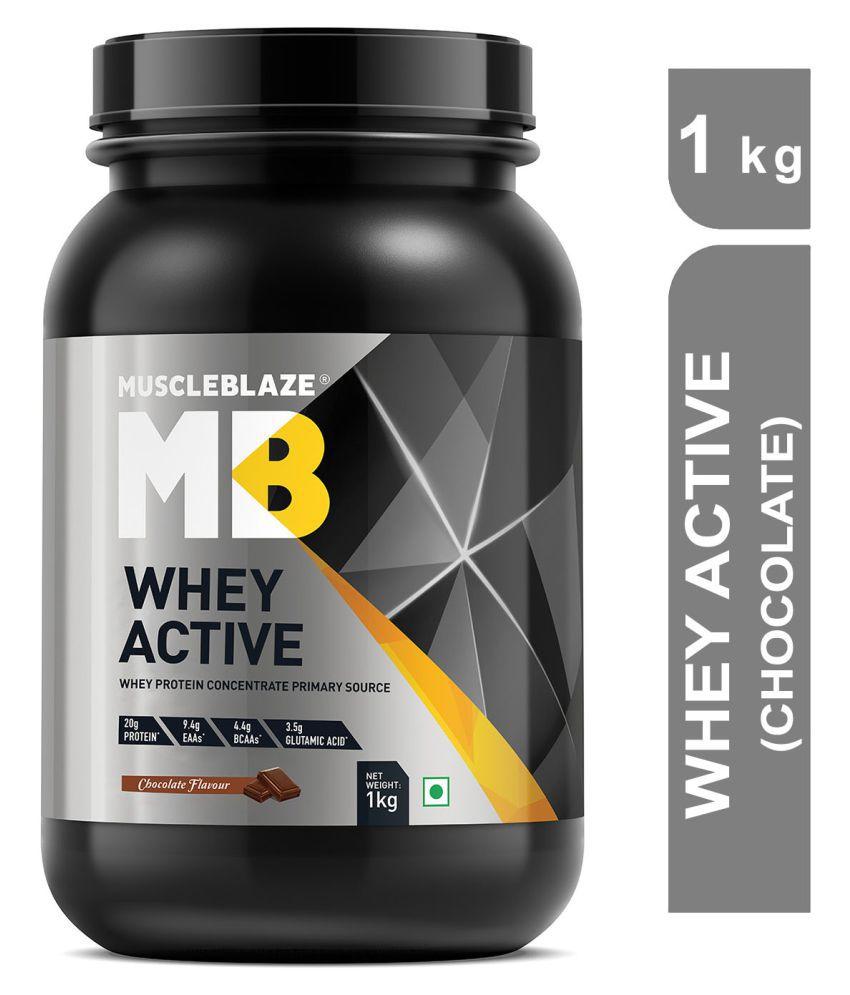 MuscleBlaze Whey Active 1 kg
