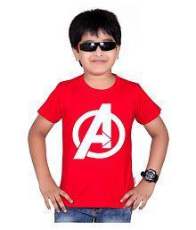 Avenger printed t shirts for boys