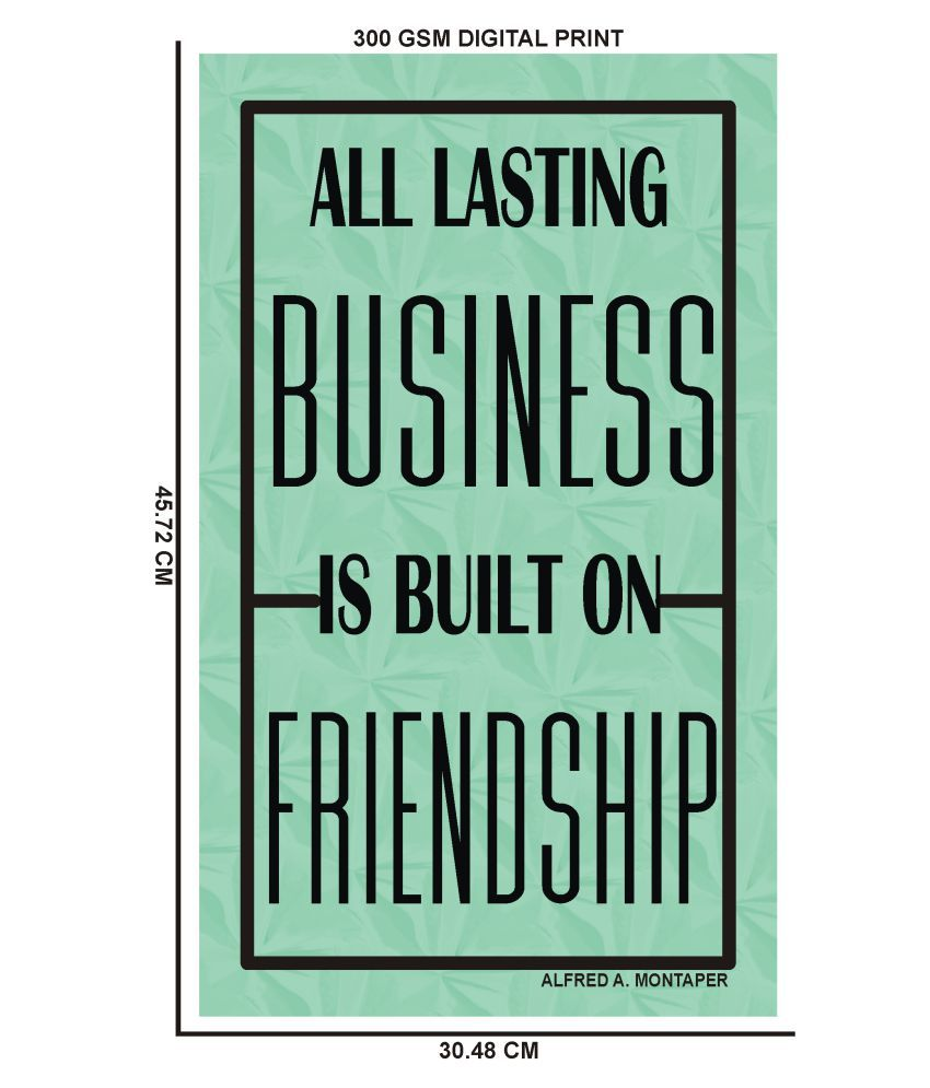 Yellow Alley Friendship Quote Posters SDL 4 4e71c