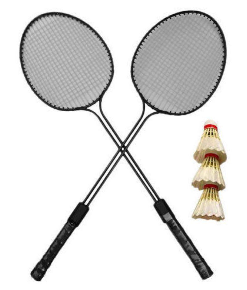 rudra retail rt Badminton Raquet Black: Buy Online at Best