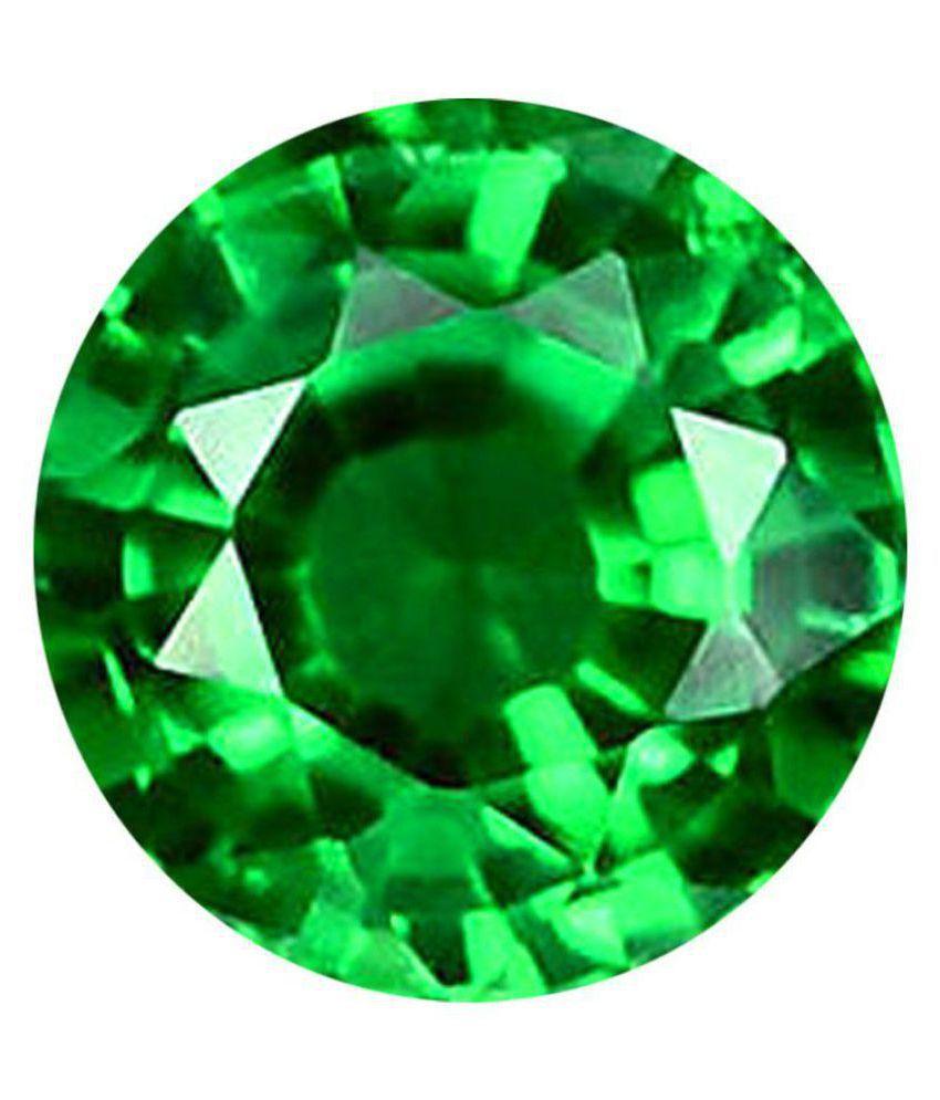 Beautiful 5.25 Ratti Natural  Green Gemstone