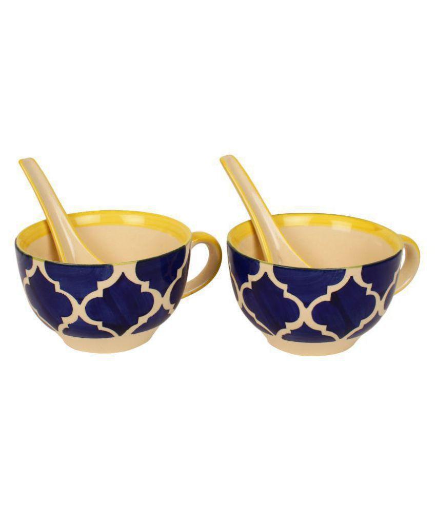 Kittens 2 Pcs Ceramic Soup Set 300 ml