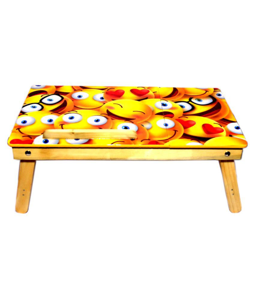 Priceless Deals Laptop Table For Upto 48.26 cm (19) Yellow