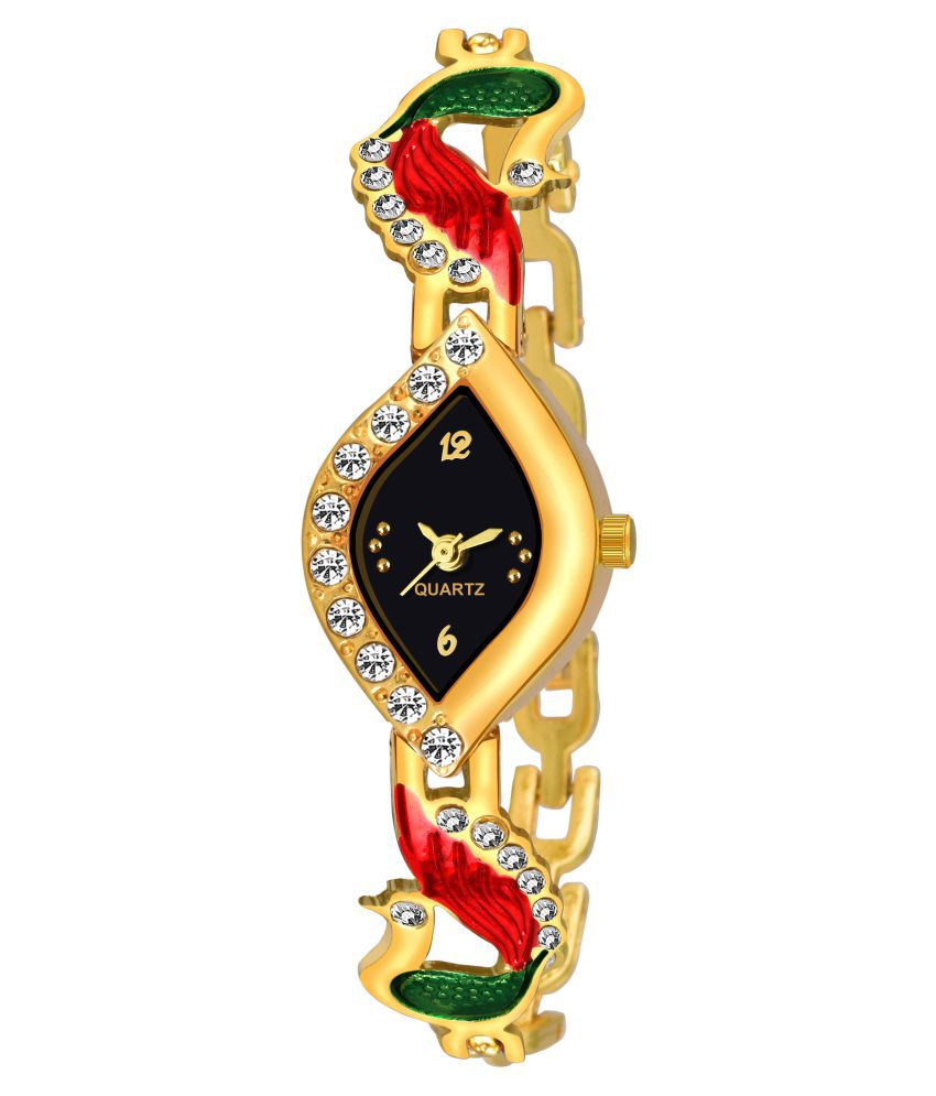 VeBNoR Metal Oval Womens Watch