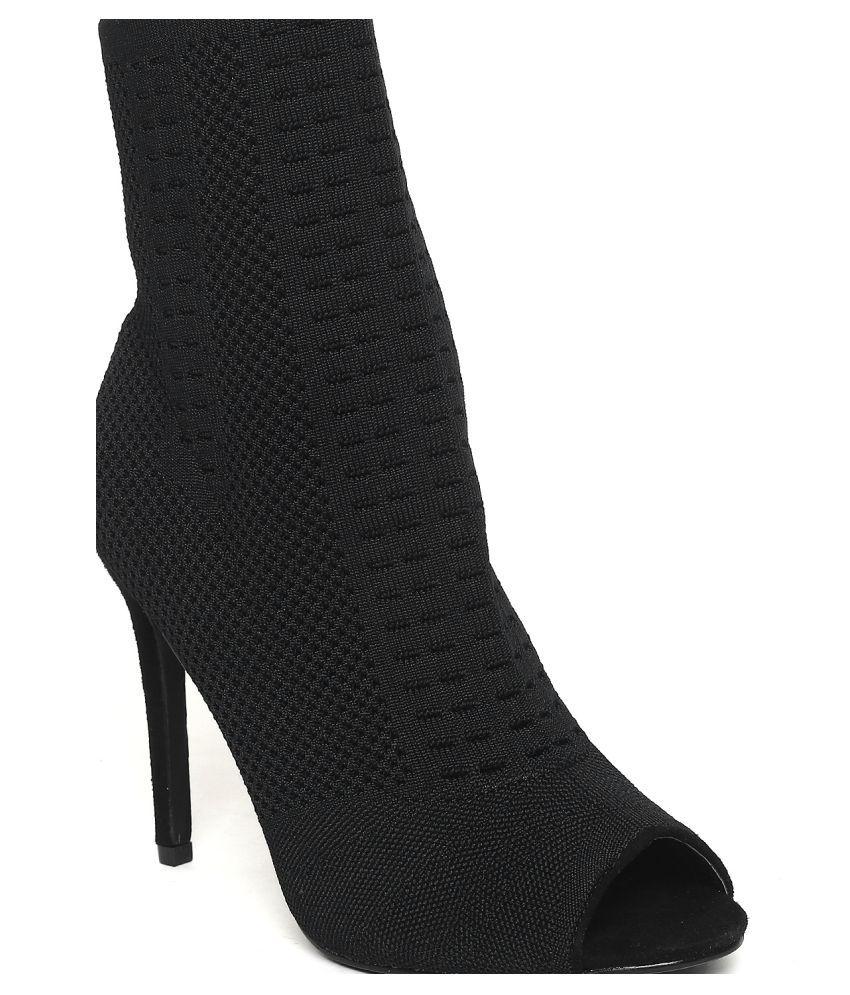 Catwalk Black Stiletto Heels