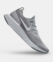 premium selection 6a7a9 cdf70 Quick View. Nike Epic React Gray Running Shoes