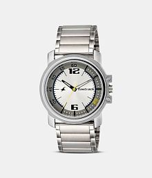 Speed Time 3039sm05 Silver and Black Watch