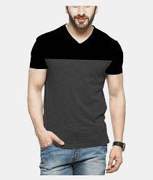 abcd22bc V-Neck T-Shirt: Buy V-Neck T-Shirt for Men Online at Low Prices in ...