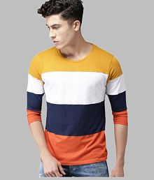 1e5cbca6ae8 T-Shirts   Polos Online Store for Men - Snapdeal