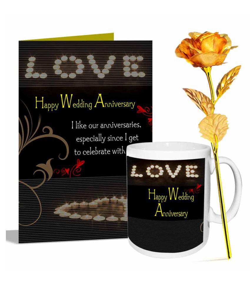 AlwaysGift Ceramic Valentine Hamper - Pack of 3