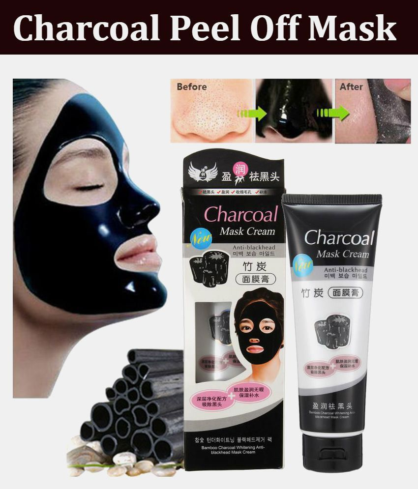 charcoal face anti blackhead peel off mask 130ml buy charcoal face rh snapdeal com
