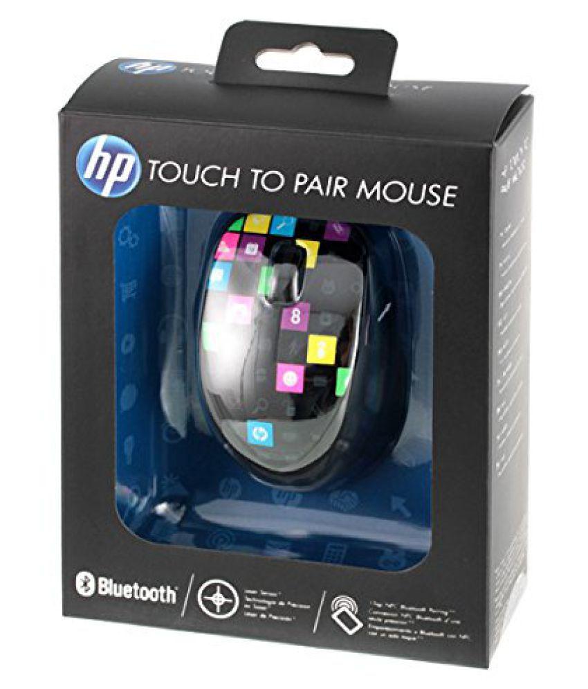 5e826903885 HP H4R81AA Multicolour Bluetooth Mouse - Buy HP H4R81AA Multicolour ...
