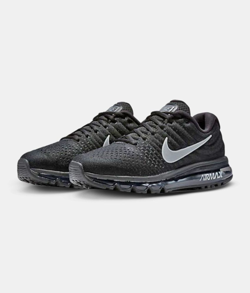 Nike AIR MAX 2017 Black Running Shoes