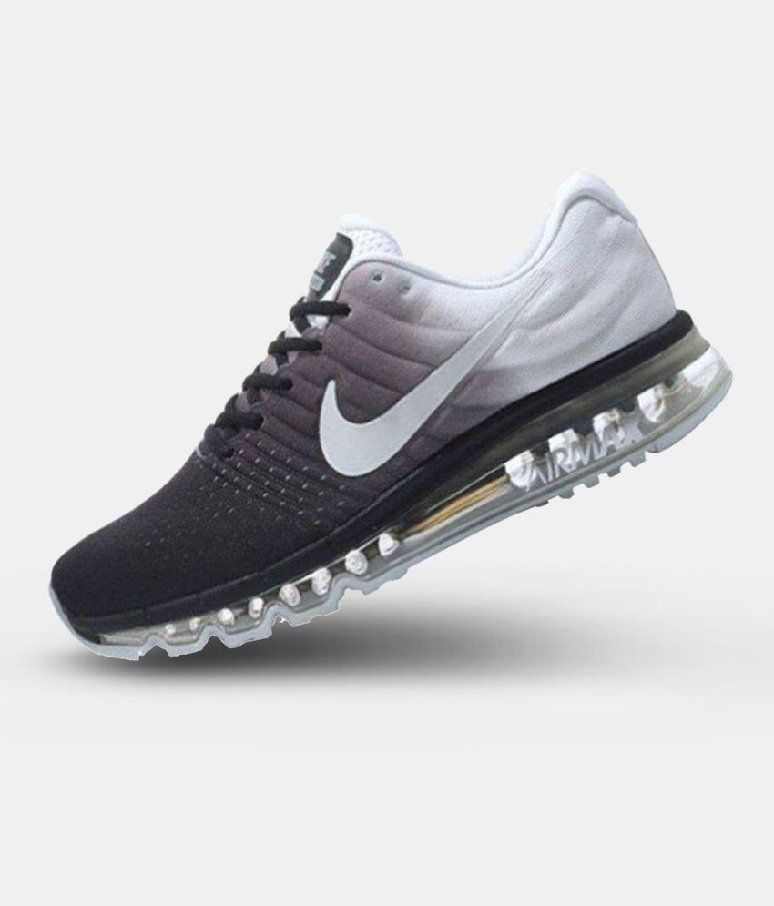 83c5f75f0949 Nike Air Max 2017 White Running Shoes - Buy Nike Air Max 2017 White Running  Shoes Online at Best Prices in India on Snapdeal