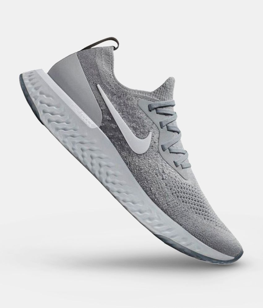 official shop order online best quality Nike Epic React Grey Running Shoes - Buy Nike Epic React Grey ...