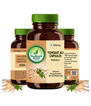 Shudhanta Herbal Products Shudhanta herbal 100% Tongkat Ali Capsule