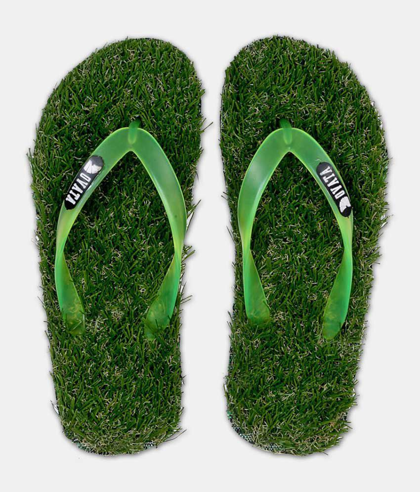 ovata Green Daily Slippers