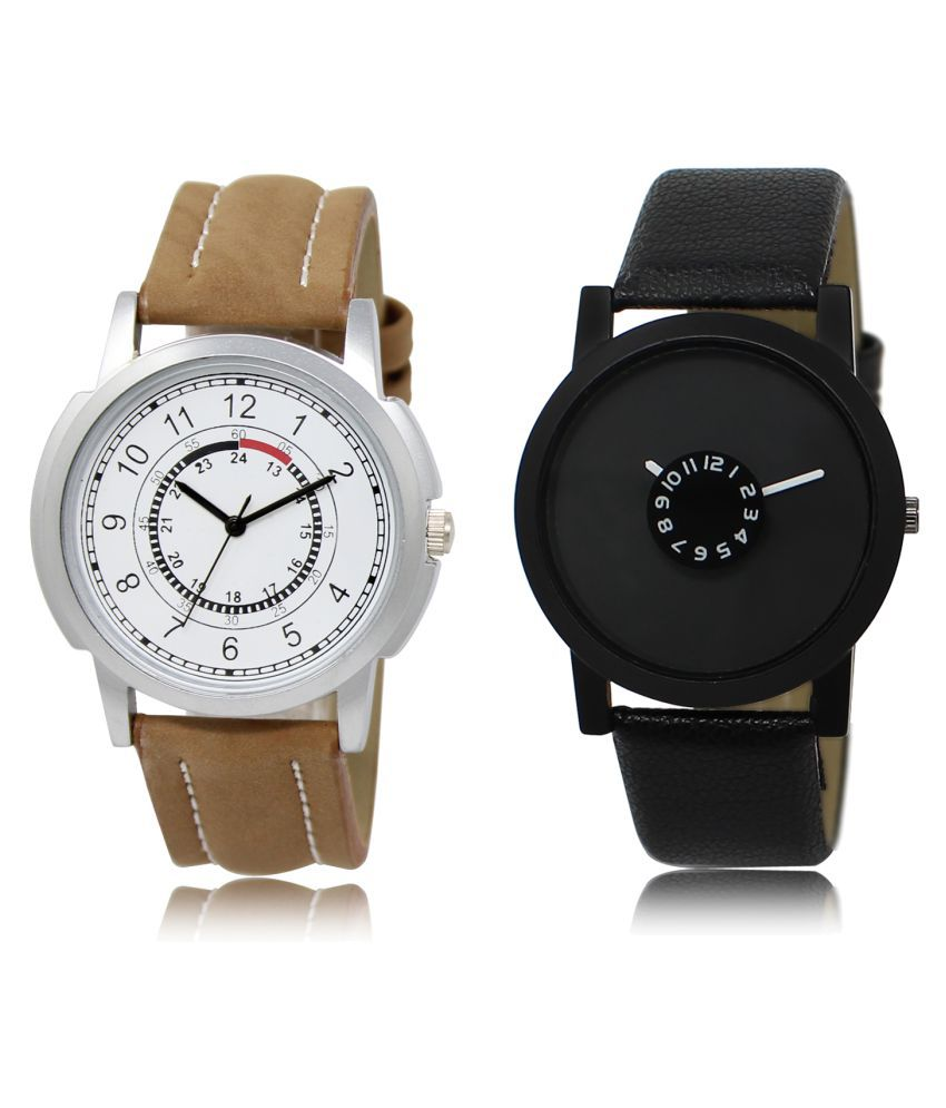 Lorem Analog ML-17-25 Combo Watch For Men & Women