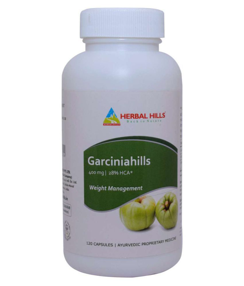 Herbal Hills Garciniahills 120 Capsule 400 mg