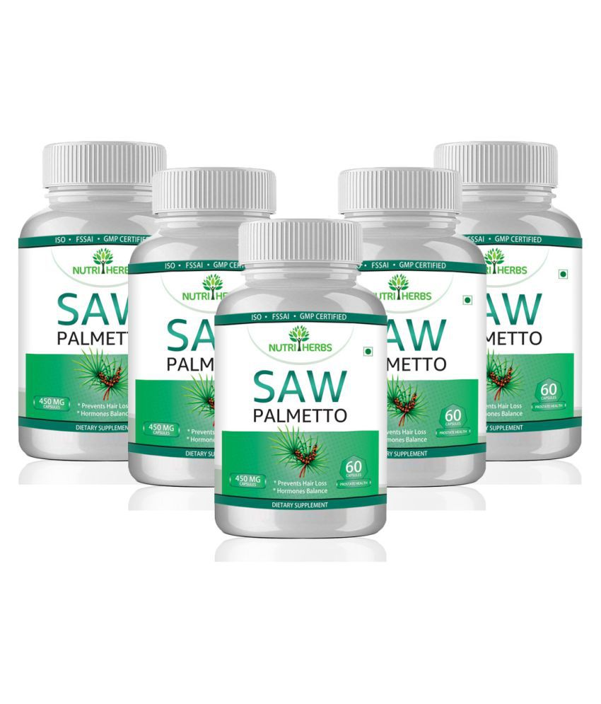 Saw palmetto supplement for hair loss