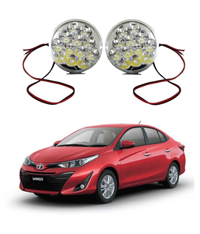 Trigcars Toyota Yaris LED Fog Lamp + Free Car Bluetooth