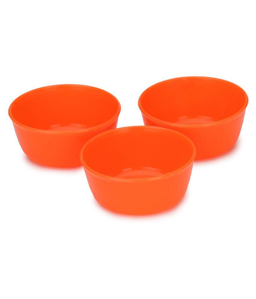 AFAST 3 Pcs Plastic Dessert Bowl 100 ml