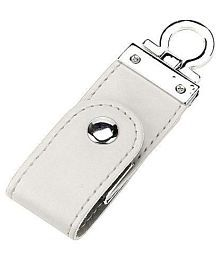 KBR LEATHER KEYRING 4GB USB 2.0 Fancy Pendrive Pack of 1