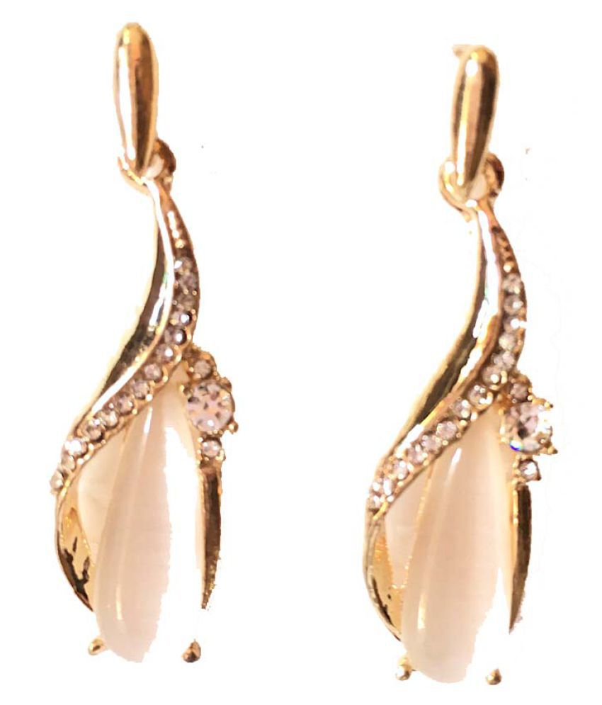 Opal Collection Designer  Rose Gold Plated and Earrings for Women and Girls