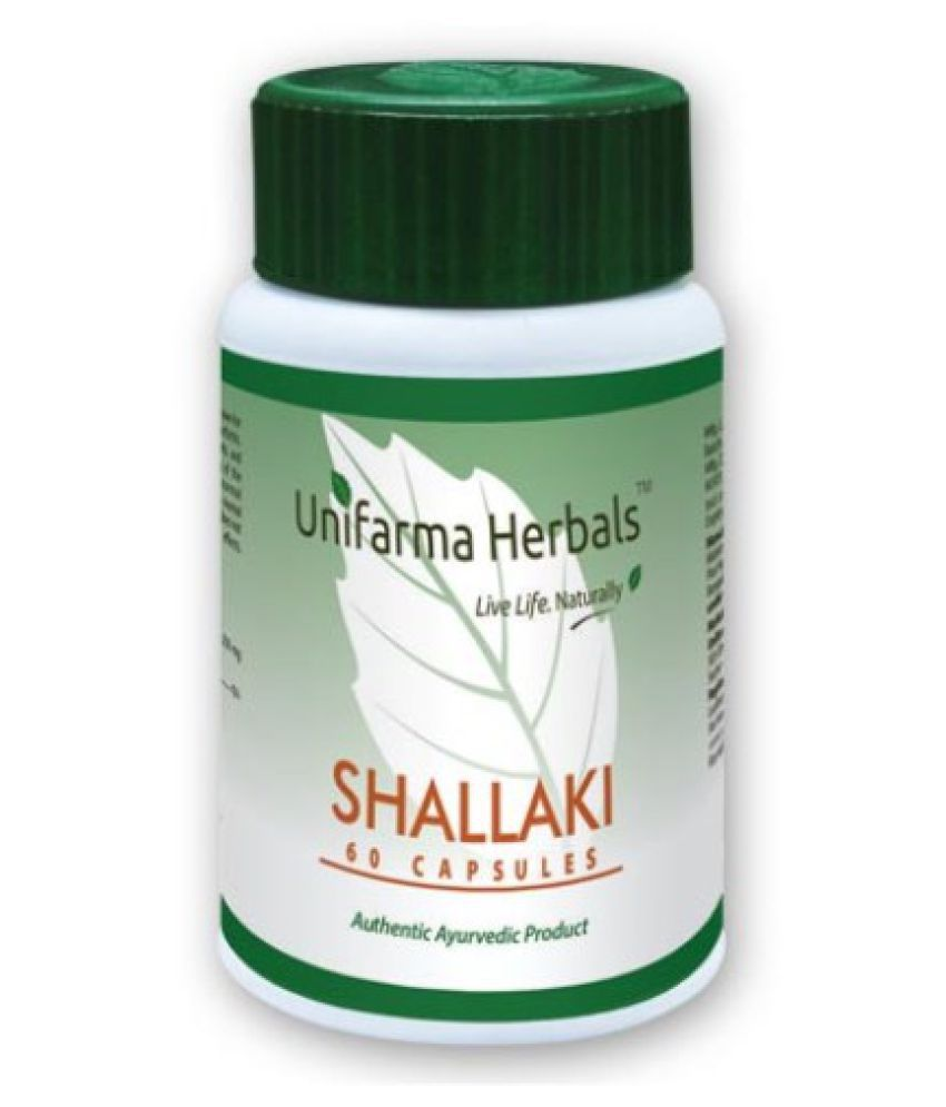 Unifarma Herbal SHALLAKI Capsule 60 no.s Pack of 3