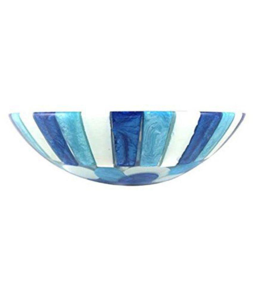 Arista Blue Vinyl/Acrylic Over Counter Wash Basins