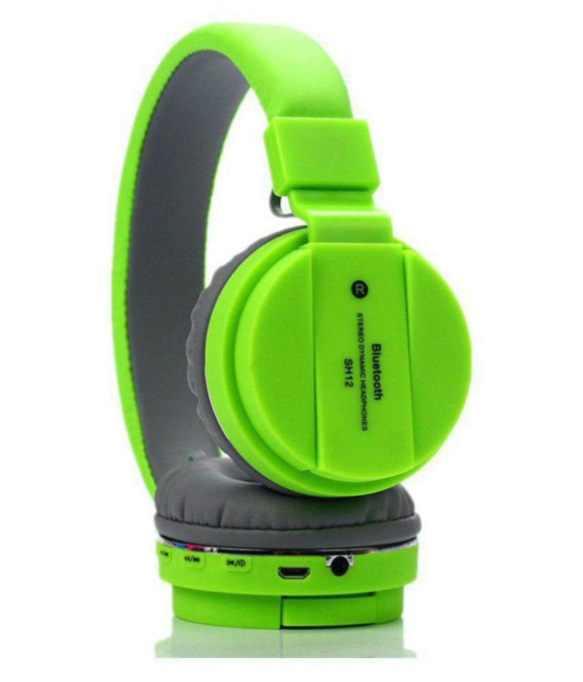 2df967828b9 Galaxy Touch SH-12 On Ear Wireless Headphones With Mic - Buy Galaxy Touch  SH-12 On Ear Wireless Headphones With Mic Online at Best Prices in India on  ...