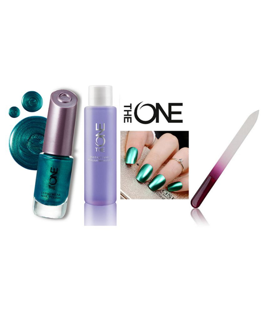 The One Nail Remover,Nail Flie & Long Wear Nail Polish Mystic Forest Matte 60 ml