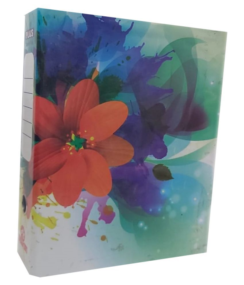 Helloperfect Premium Quality Card Board Box Post Binder File - Pack of 12
