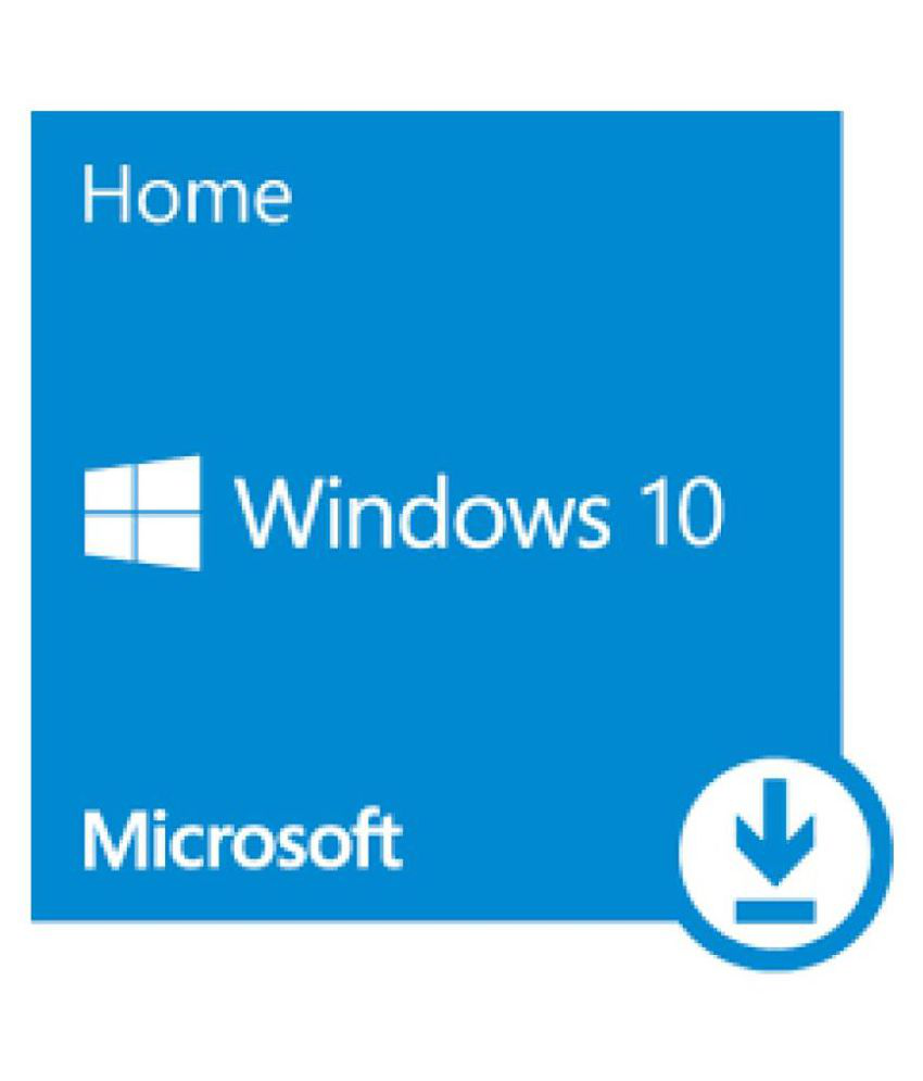 Microsoft Windows 10 Home 32/64 Bit ( Activation Card )