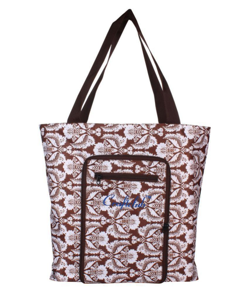 trunkit Brown Shopping Bags - 1 Pc
