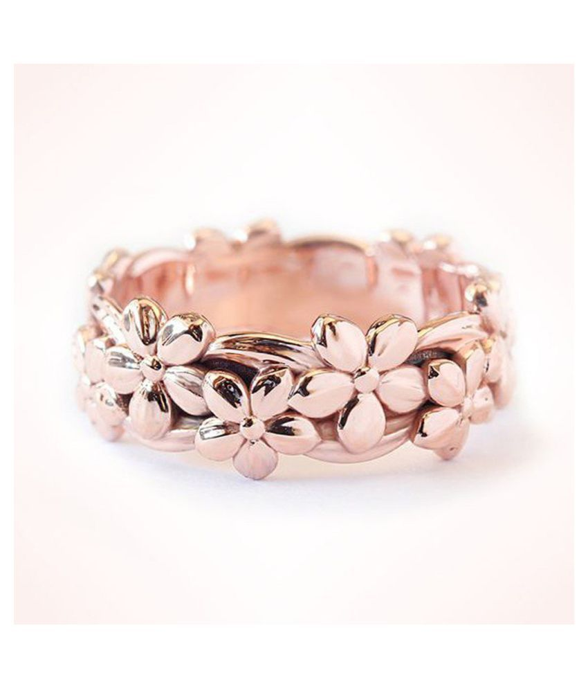 Fashionable Wedding Ring Plum Blossom Ring Flower Ring Finger Accessories Fashion Jewellery