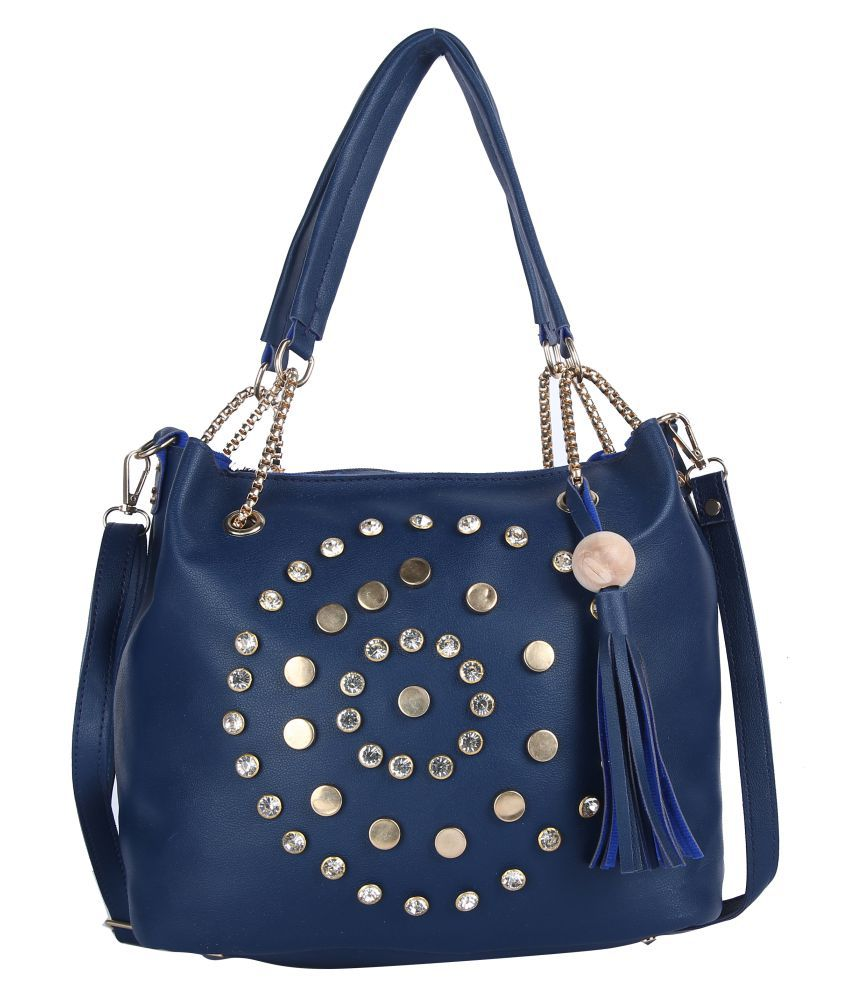 Hawai Blue Casual Messenger Bag