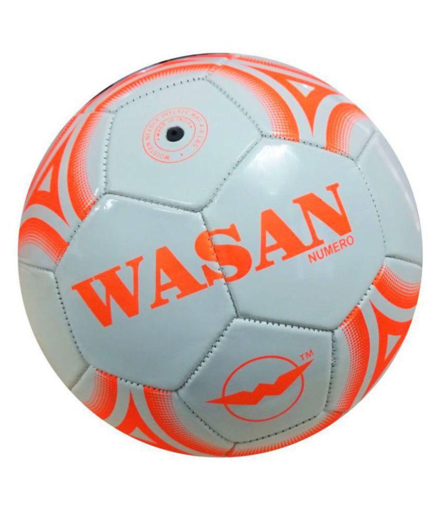 wasan Numero White Football Size  5