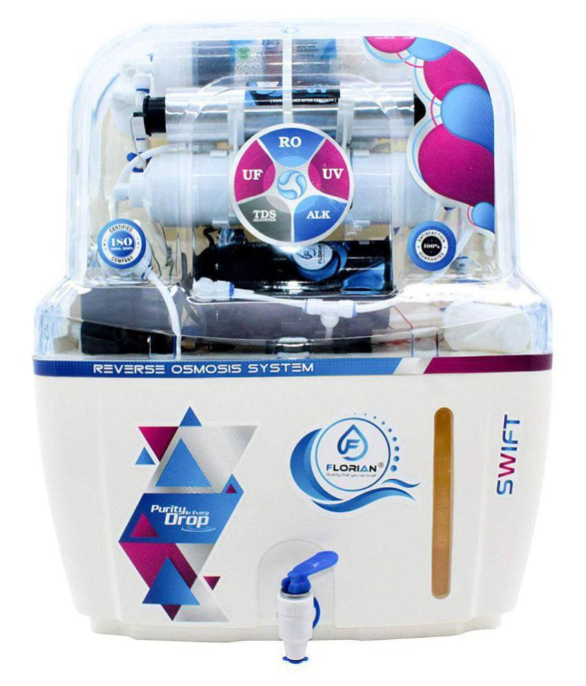 FLORIAN (FL8033) 10 Ltr ROUVUF Water Purifier