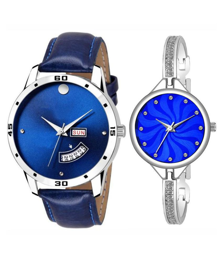 vasant impex men and women analogue stylish fashionalble couple watch pack of 1 with 1364956614