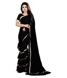 62b8030f3e Anjaneya Sarees Black Georgette Saree. Rs. 2,999 Rs. 999. 67% Off. (9).  Quick View