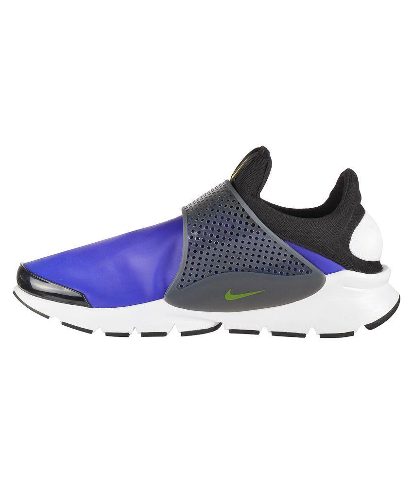 wholesale dealer c18fd 3816e Nike Sock Dart Se Blue Running Shoes