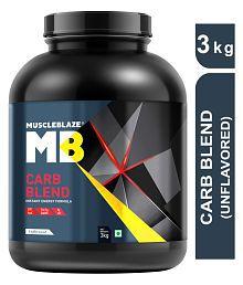 MuscleBlaze Carb Blend 3 kg